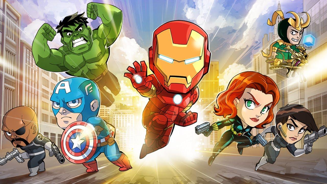 Marvel Run Jump Smash Trailer Official Hd