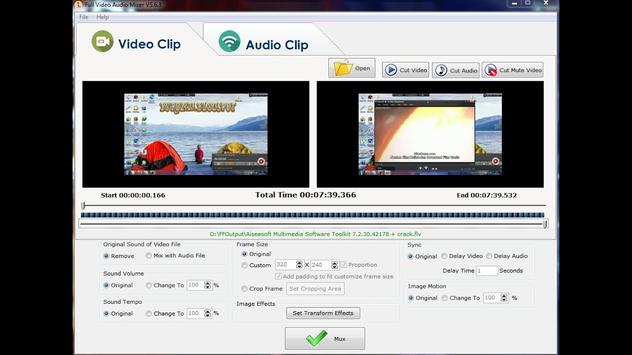 full video and audio mixer with crack - YouTube
