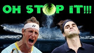10 GLORIOUS Minutes of Federer and Nalbandian Playing Cat & Mouse! (Pt.2)
