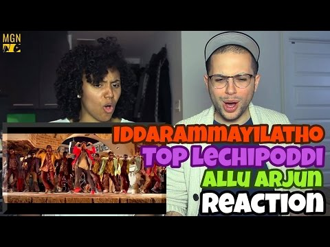 Top Lechipoddi - Iddarammayilatho | Telugu Song | Allu Arjun REACTION