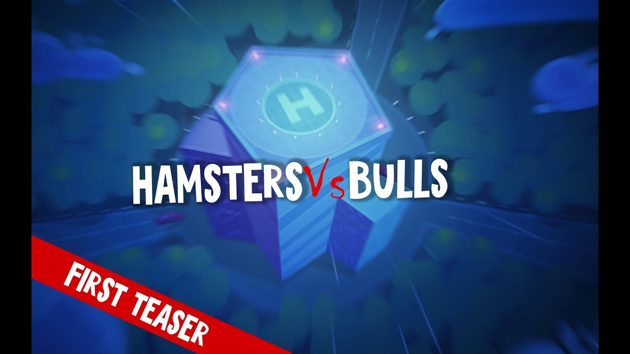 Hamsters vs Bulls: the first animated series about