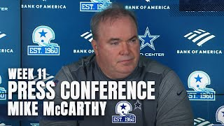 Head coach mike mccarthy shares his thoughts on new protocols taken to try and create a safer environment, while updating the injury status of qb andy dalton...