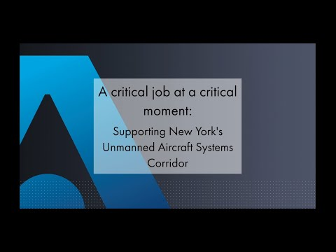 Supporting New Yorks Unmanned Aircraft Systems Corridor - Thales