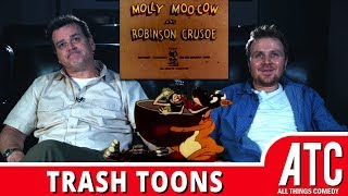 racist-molly-moo-cow-robinson-crusoe-trash-toons-with-dave-anthony-gareth-reynolds
