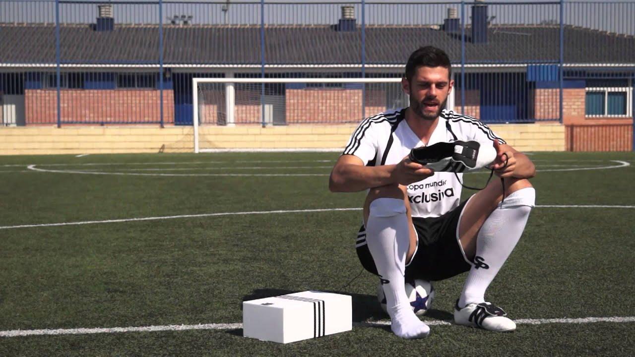 Nueva bota de fútbol adidas copa mundial blanca exclusiva