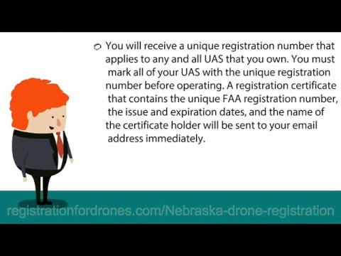 Drone registration Nebraska