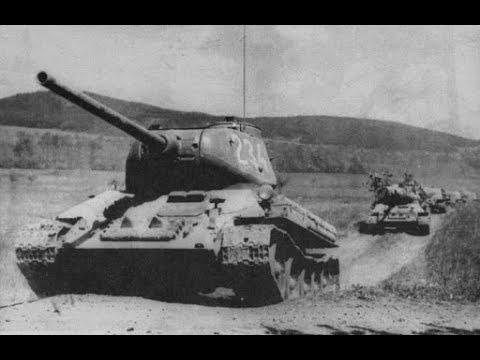 Курская Дуга 1943 Док.хроника цветное видео Битва Прохоровка