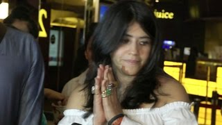 Angry ekta kapoor leaves interview mid way