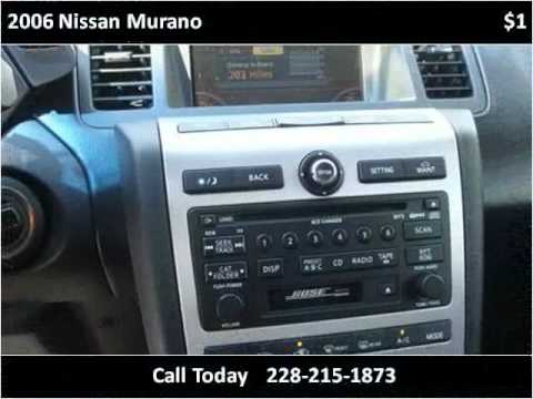 2006 Nissan Murano Used Cars Ocean Springs MS