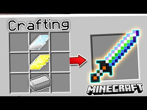 CRAFTING THE ULTIMATE MINECRAFT SWORD!! (EP 2)