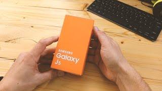 Samsung Galaxy J5 Unboxing & Einrichtung (deutsch)