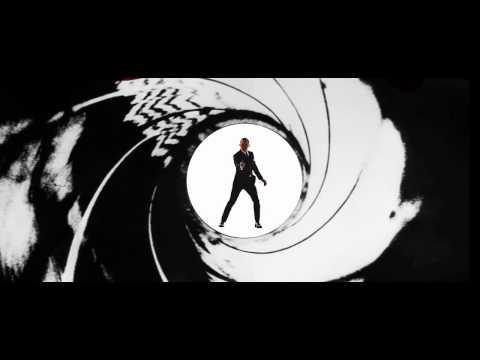 Retro Bond 25 Gunbarrel Concept