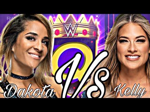 WWE 2K20 Queen Of The Ring Kelly Kelly vs Dakota Kai