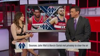 John Wall had a right to be upset over Marcin Gortat
