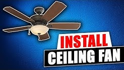 How to Install Harbor Breeze Saratoga Ceiling Fan