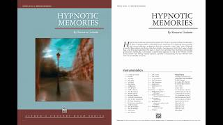 Hypnotic Memories, by Rossano Galante – Score & Sound