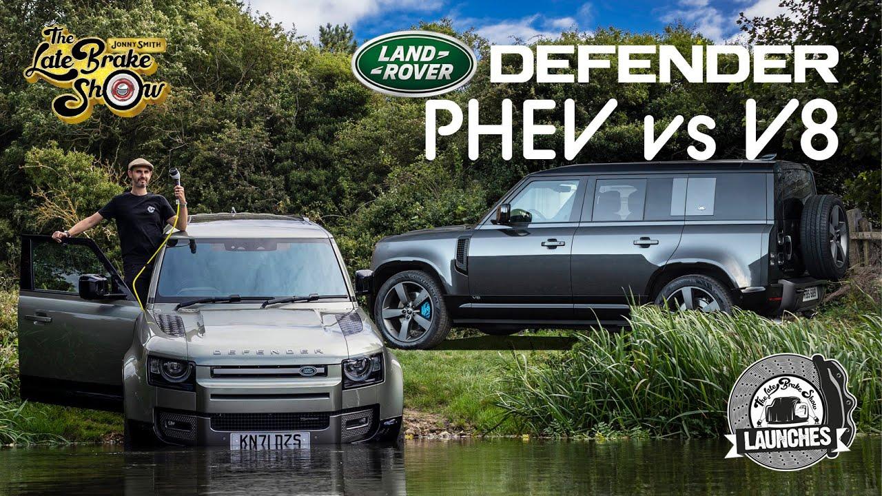 V8 Vs PHEV: New Land Rover Defender P525 and P400e full review