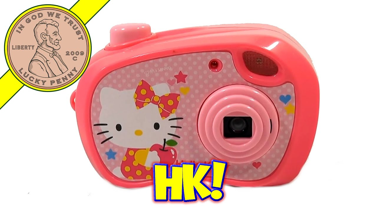 Hello Kitty Toy Camera, Blip Toys - YouTube