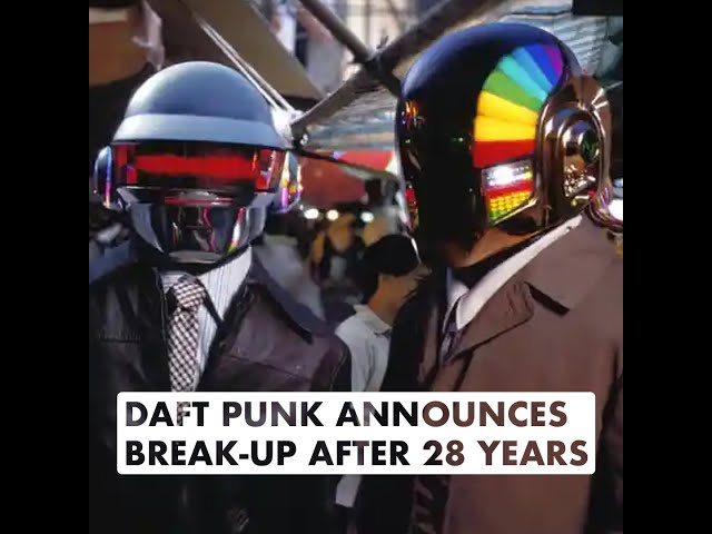 Daft Punk Announces Break-Up After 28 Years