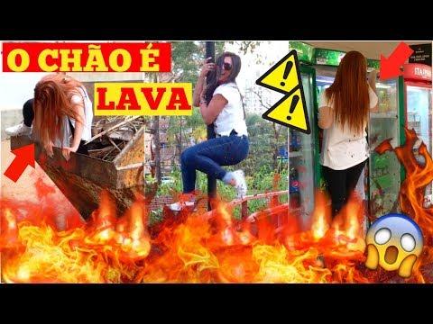 O CHÃO É LAVA EM VÁRIOS LUGARES!!! #2 (MERCADO, MC DONALD'S, SHOPPING E MAIS!!) - Sisters Lellis