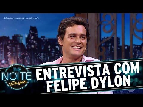Entrevista com Felipe Dylon | The Noite (29/03/17)