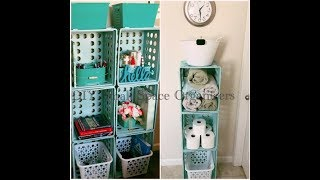 DIY Tiny House/Dorm Room or Any Small Space Organizer - Great for lots of stuff!