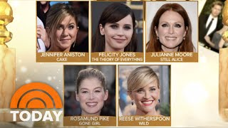 Golden Globe Nominations Announced | TODAY