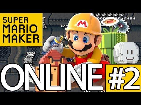 SUPER MARIO MAKER ONLINE PART #02 - Ich hasse Sprungkisten! [HD] DEUTSCH