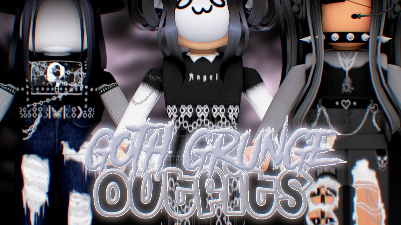 5 Aesthetic Alt Emo Grunge Outfits For Girls Roblox With Codes