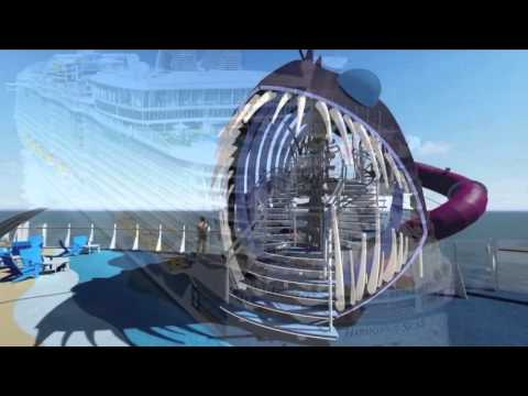 Harmony of the Seas - toboggan The Ultimate Abyss waterslide