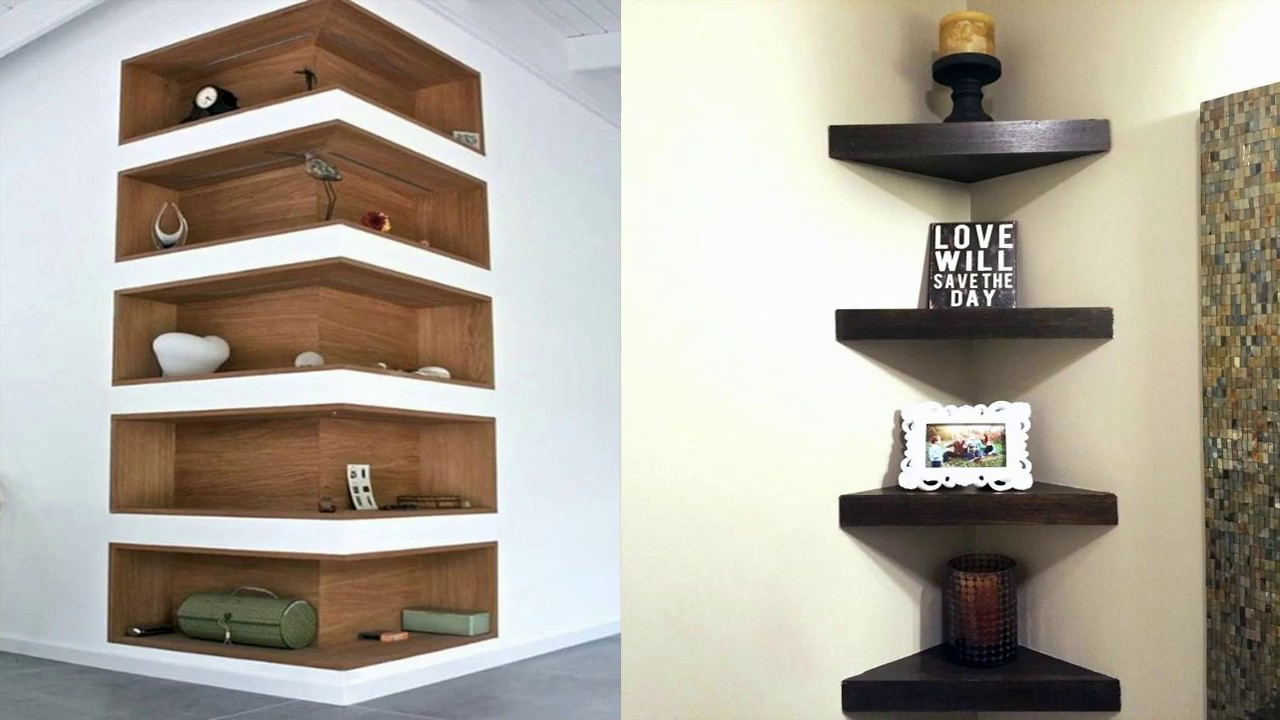 Wall Mount Corner Shelves Ideas And