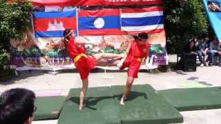 Muay Thai Show By Thai's student of GZU 2013