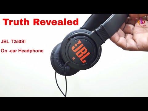 7a0fe3c67fa Best Headphone under 1000 ? JBL T250SI on ear headphone - YouTube
