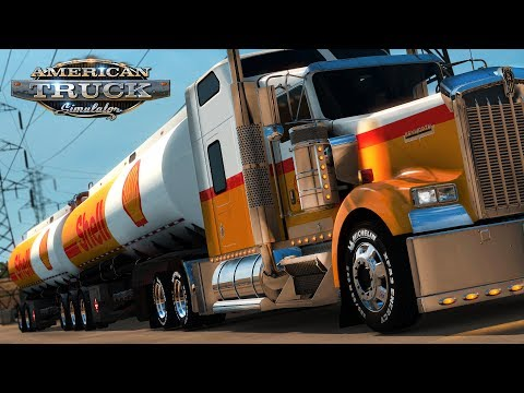 American Truck Simulator: Matching Shell B-train - Tucson to Phoenix