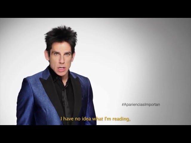 ¡Derek Zoolander en español! Aprender Es Triunfar -  Zoolander 2 2016 HD