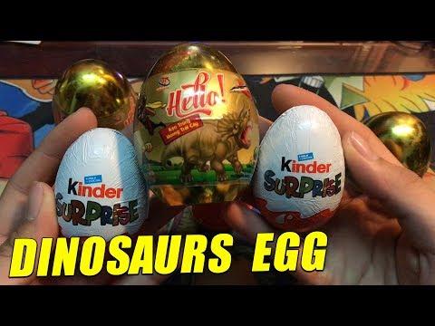 Dinosaur Surprise Eggs : BÓC TRỨNG KHỦNG LONG !!! Sauropoda Dinosaur,  DINOSAUR TOY