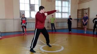 Бокс в Харькове Урок 1 Джеб - прямой удар ближней рукой