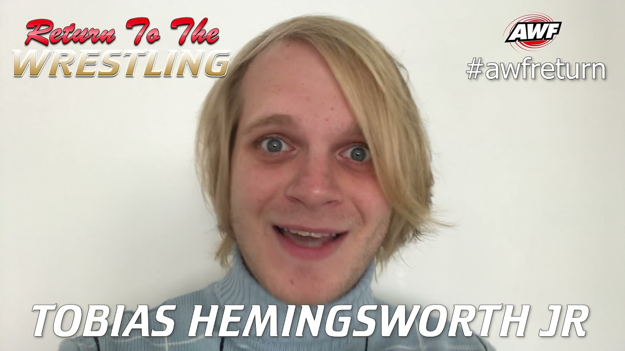 Tobias Hemingsworth Jr is looking to avenge the attack by The Outsider at AWF Return This Sat 27 Mar