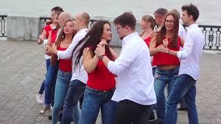 Ukrainian kizomba flashmob | Dnepr | Kiz2gether