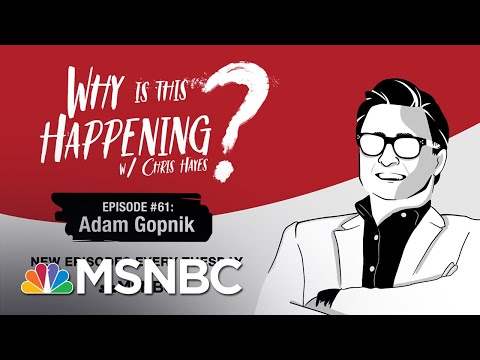 Chris Hayes Podcast With Adam Gopnik | Why Is This Happening? - Ep 61 | MSNBC