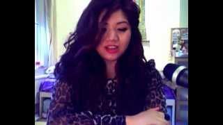 Asian Girl Singing Hindi Song Jiya Dhadak Dhadak