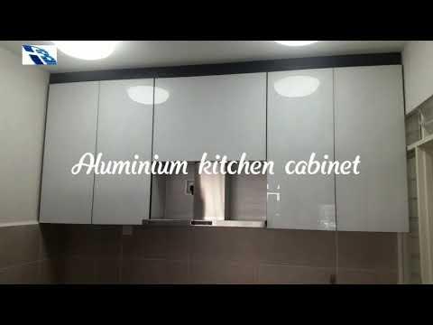 Aluminium Kitchen Cabinet - Kitchen For Apartment - Apartment Kitchen - Kitchen Design - Cabinet