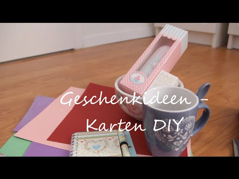 geburtstagskarten diy geschenkideen youtube. Black Bedroom Furniture Sets. Home Design Ideas