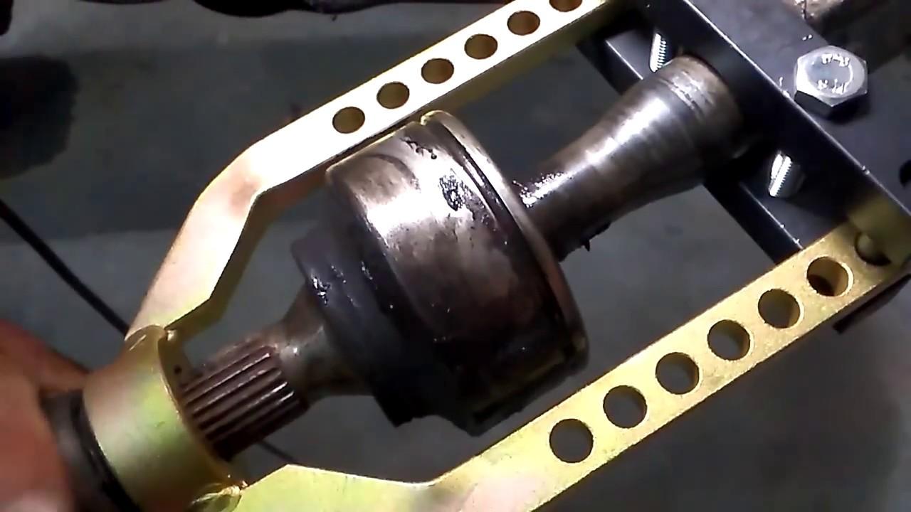 Cv joint puller tool saca homocineticas youtube for Cv tool