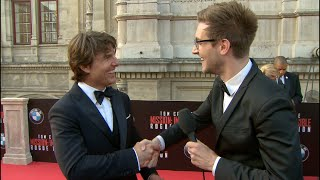 Mission Impossible: Rogue Nation interviews - Cruise, Pegg, McQuarrie, Ferguson