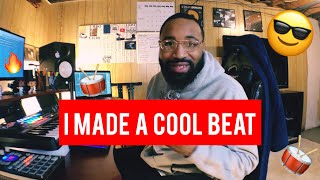 i made a pretty cool beat!! (making a hip hop beat fl studio 20)