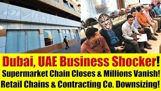 Dubai, UAE Bankruptcy Reports - Contracting Company, Supermarket & Retail Outlets