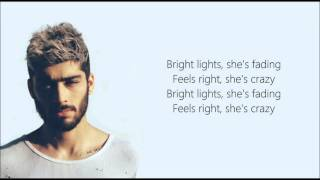 ZAYN - She (Lyrics)
