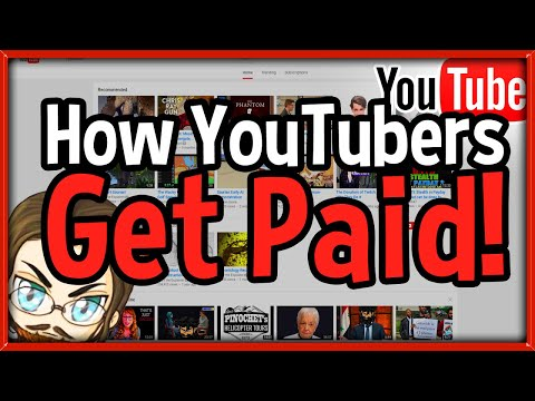 How YouTubers Get Paid! - How To Get Paid w/ Adsense on YouTube!
