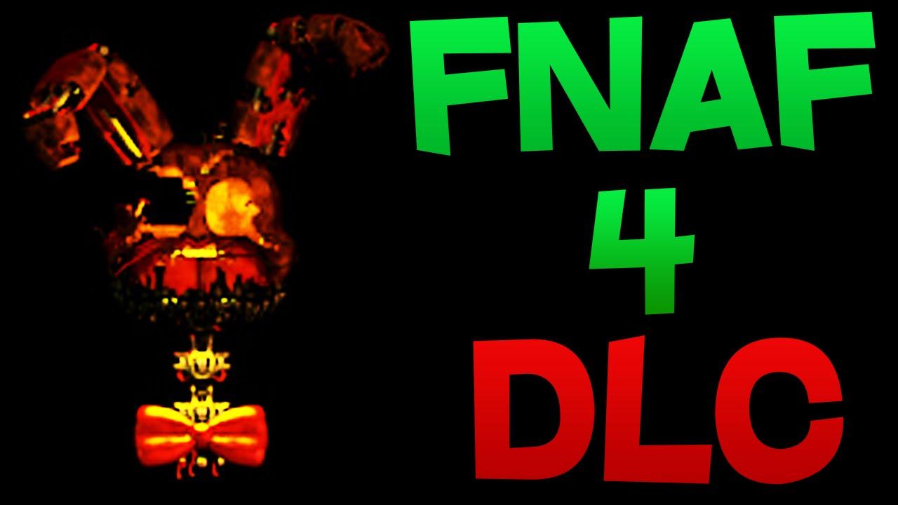 Fnaf 4 Dlc Nightmare Plushtrap Jack Olantern Spring Bonnie In
